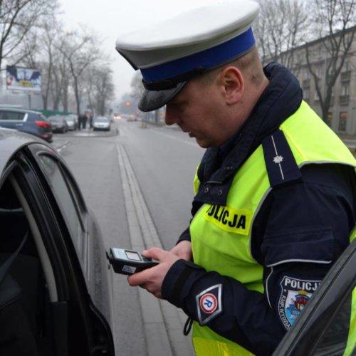 W ostatni weekend ferii zimowych 70 kierujących straciło prawo jazdy za jazdę po alkoholu