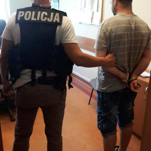 Policjanci z bydgoskiego oddziału prewencji zatrzymali podpalacza